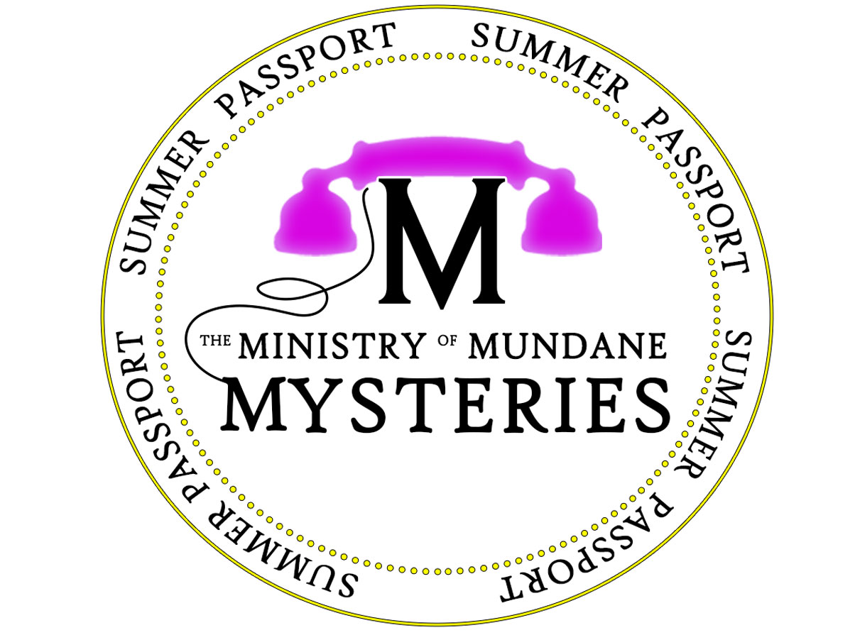 Logo for the Ministry of Mundane Mysteries